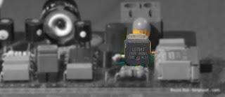 Защитный N-канальный КМОП транзистор, вид на детали