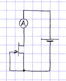 Измерение начального тока стока полевого транзистора