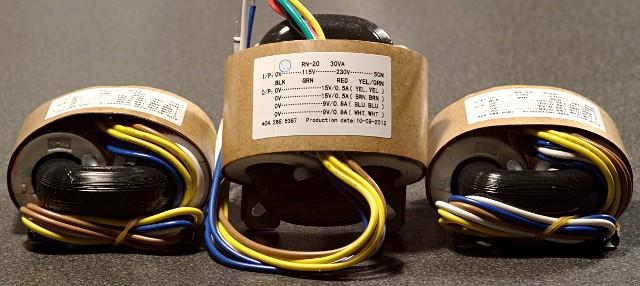 R-core трансформаторы из набора