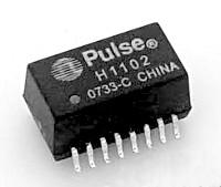 Сигнальный трансформатор из сетевой карточки 100BASE-T
