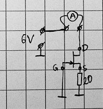 Измеряем ток источника тока на одном полевом транзисторе