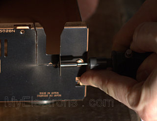 Достраиваем фильтр сетевого питания в CD-проигрыватель