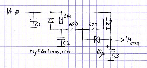 Электронный дроссель, простейший вариант