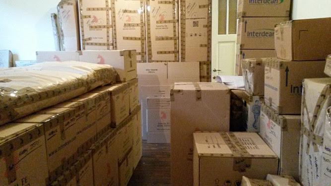 Сборы - коробки, коробки...
