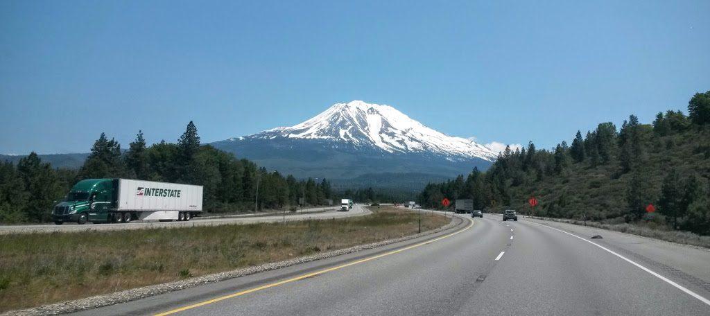 Орегон - Калифорния